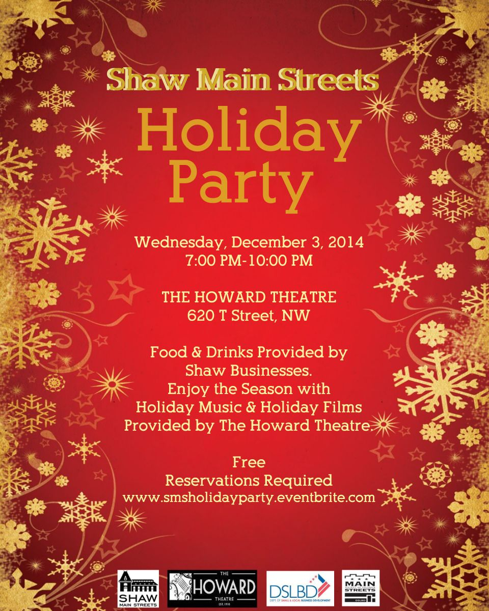 shaw main streets holiday party 120314 710 pm